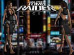 Tomb Raider Legend: Ripped Party Dress Outfit