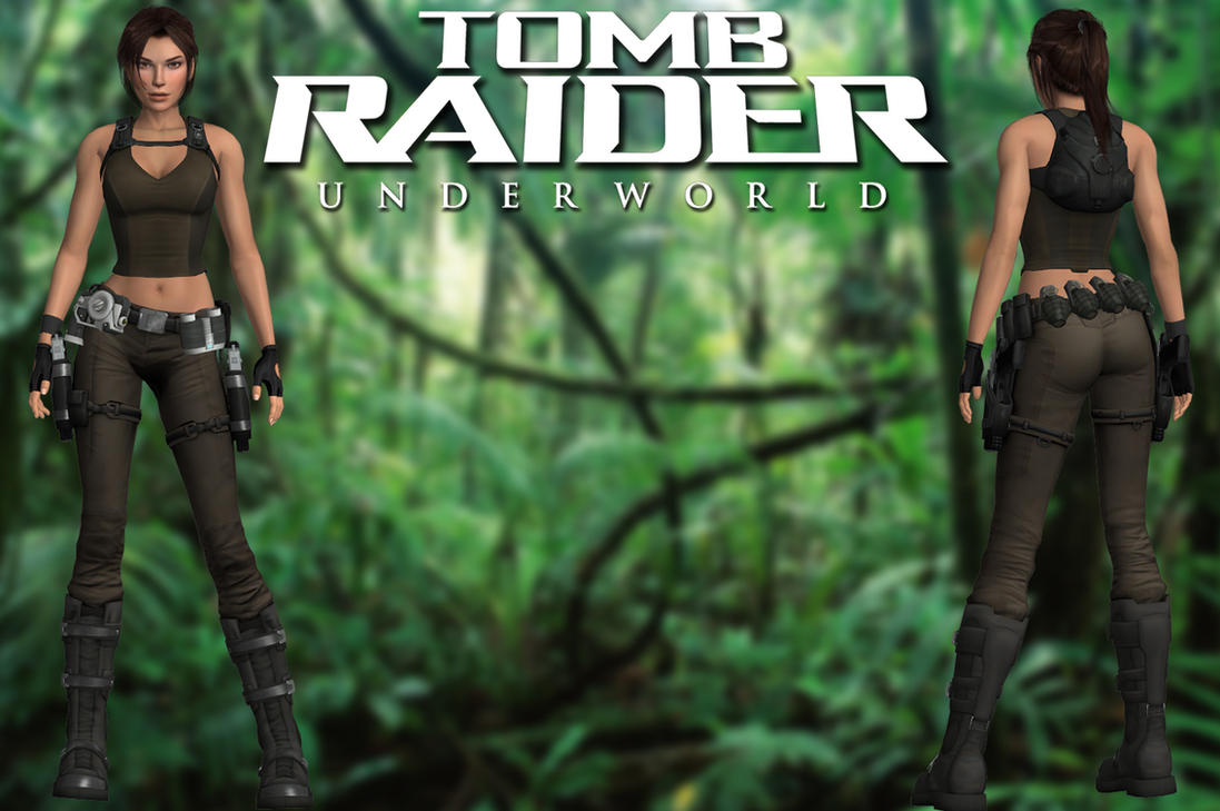 Mod The Sims - 10 Tomb Raider Outfits