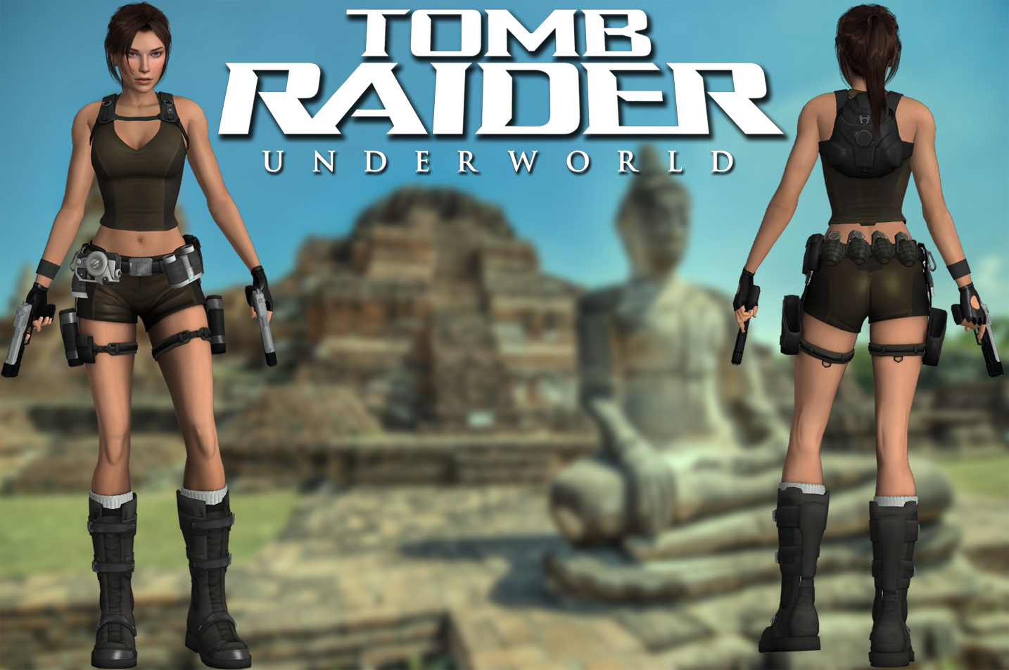 Tomb raider 2023 outfits nude girls