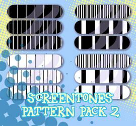 Screentones Pattern Pack 2