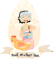 Best Mother Hen by xKuroRavenx