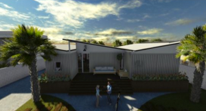 Projeto casa conteiner ecologica by Adhago