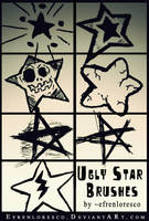 Ugly Star Brushes pack by efrenloresco