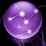Purple Network Icon