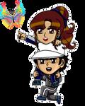 Animated Chibi: Sport Medical Shipping by Lily-de-Wakabayashi