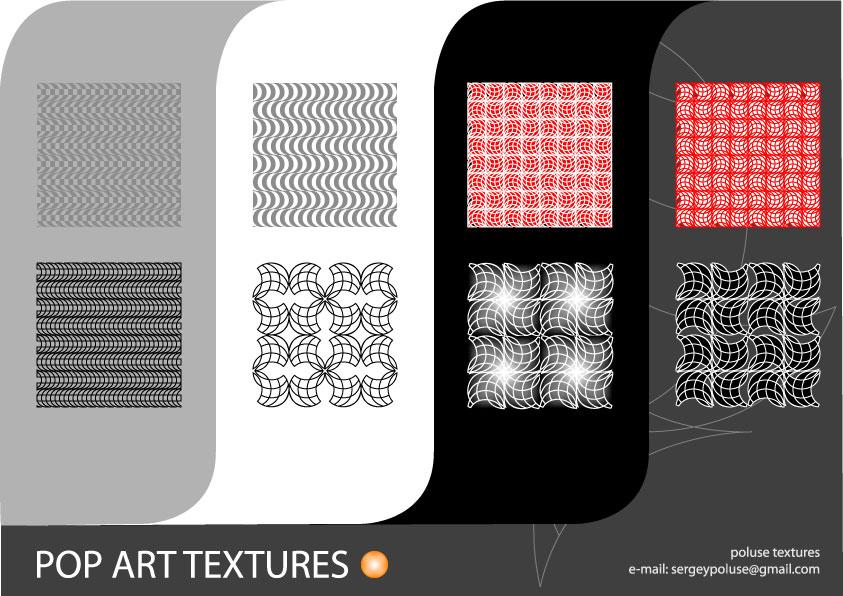 pop art vector texture