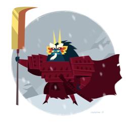 Guardian of Gongga by mhannecke