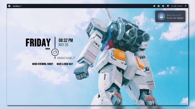Sheratan - Conky theme