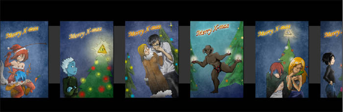 Merry X-mas_ flash card whee by Chimeria