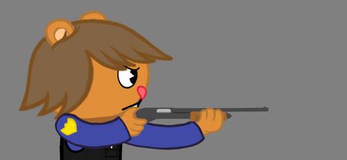 Shooting 5 shots fired (Remington 870) - Animation by Cholnatree