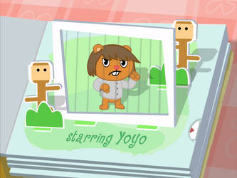 Starring Yoyo (in/pull) (Animation) by Cholnatree