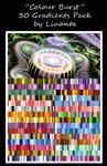 Colour Burst Gradient Pack