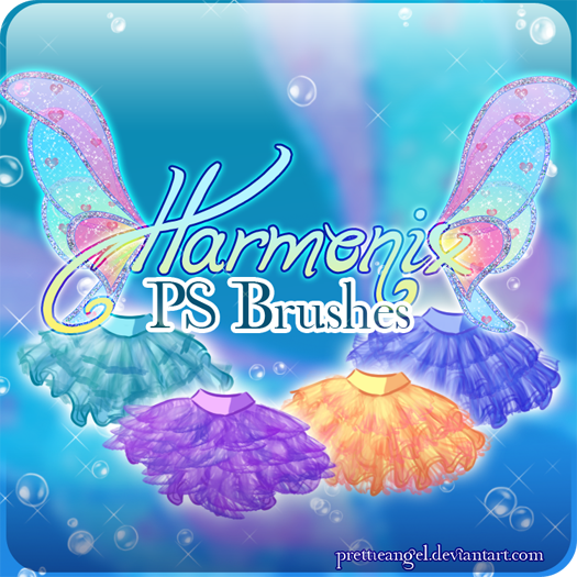 Winx Club 'Harmonix' Brushes by PrettieAngel