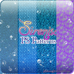 Winx Club 'Sirenix' Patterns by PrettieAngel