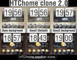Conky htc-home clone v2.0