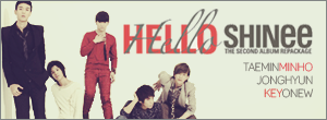SHINee Hello Signature Banners by lyfette