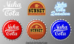 Fallout Bottle Cap Icon Pack