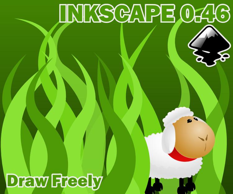 inkscape aboutscreen - sheepie by ryanlerch