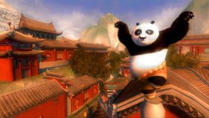 Kung fu panda Logon Screen