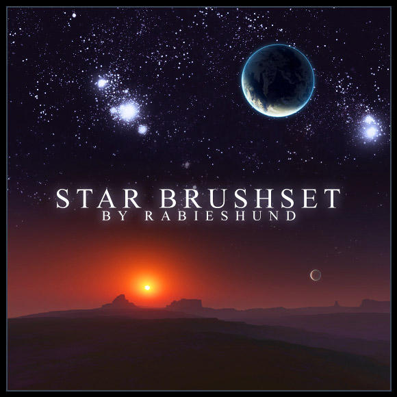 Rabies Star Brushset Rabies_Star_Brushset_by_Rabieshund