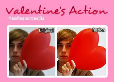 Valentine's action