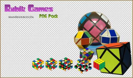 Rubik games PNG's