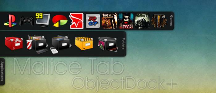Malice Tab Objectdock Plus by amaeli