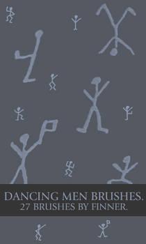 Dancing Men Brushes.