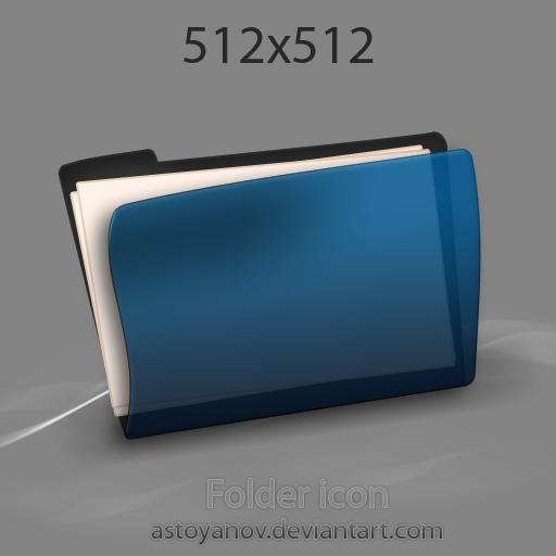 Folder icon 2 by astoyanov