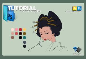 Coloring using pen tool 1