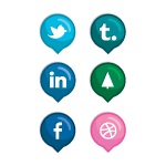 Candyball Social Media Icons by Tressley