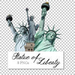 Statue of Liberty PNGs Pack by Blutmondlicht