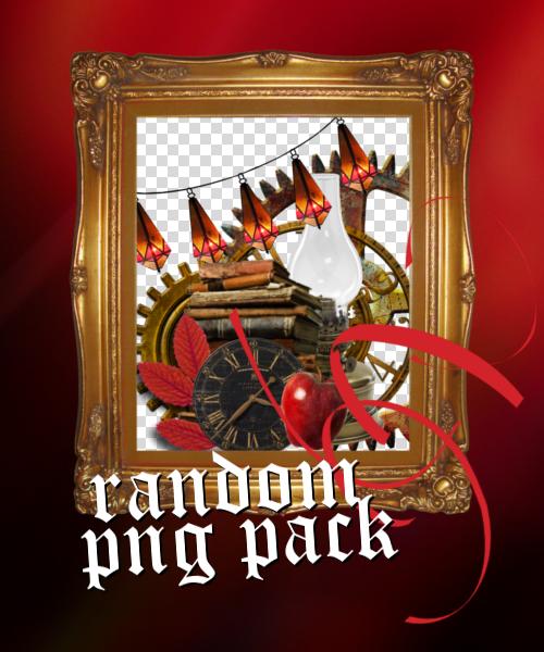 red random PNG pack by blutmondlicht by Blutmondlicht