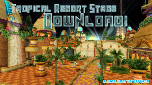 MMD Download: Tropical Resort Stage
