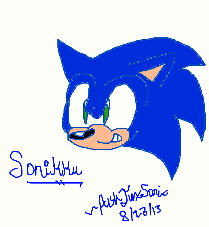 Sonic Doodle by TuxSonic