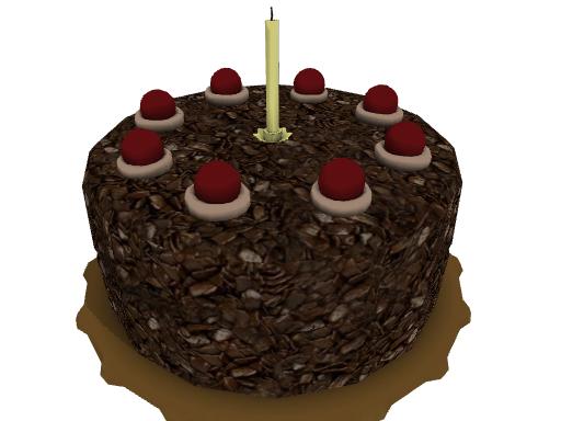 Xnalara Birthday Cake