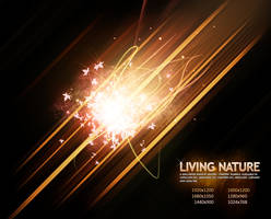 Living Nature - Fire by Cheezen