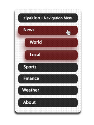 Navigation Menu by ziyaklon