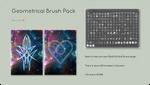 Geometrical Brush Pack by PassMater