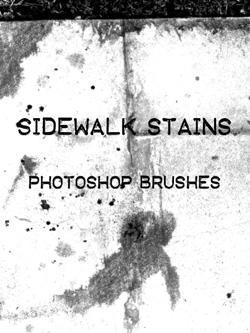 sidewalk stains by joele