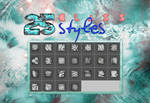 +25 Glass Styles