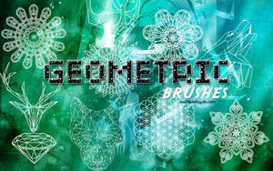 +Geometric Brushes by ISatQuietly
