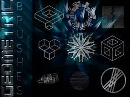 +Geometric Brushes   3 by ISatQuietly