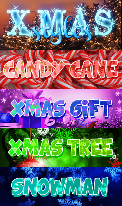 +Christmas Styles
