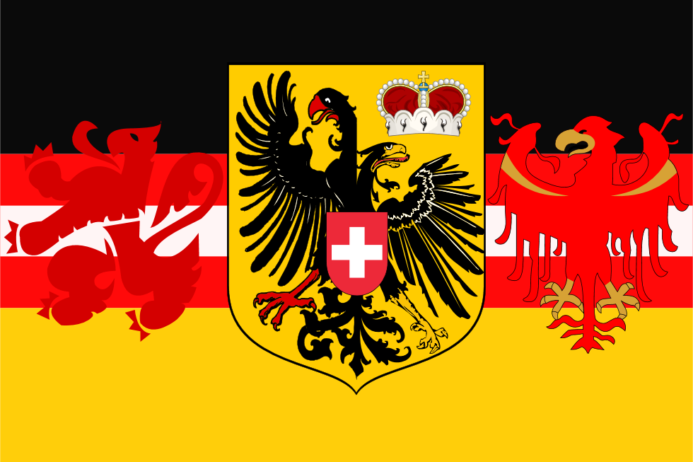 Flag Of German Language By Hosmich On Deviantart