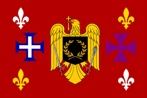 Flag of Romance languages