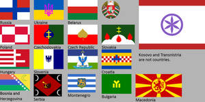New Slavic flags