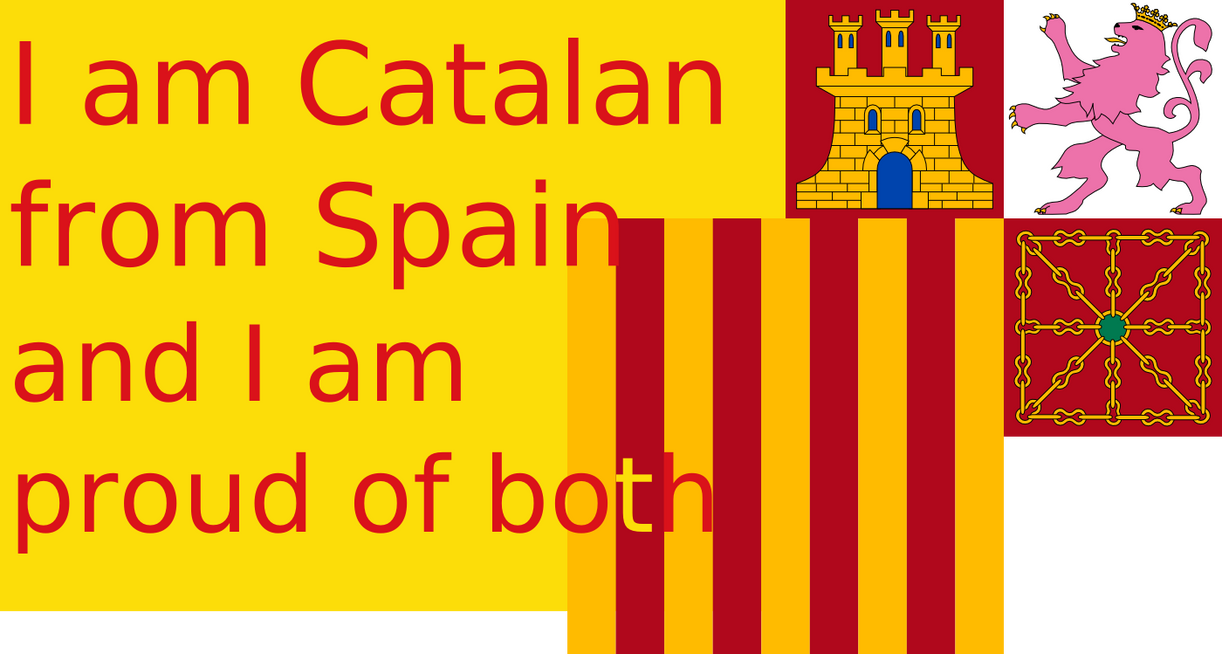Proud to be catalan from spain by hosmich on deviantart for Artiste peintre catalan