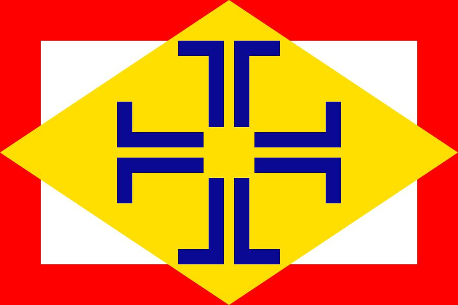 Flag of Portuguese language by hosmich