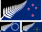 Flags of New Zealand and its associated states